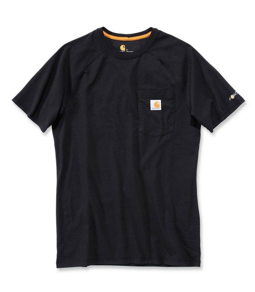 T-Shirt »Force« in schwarz