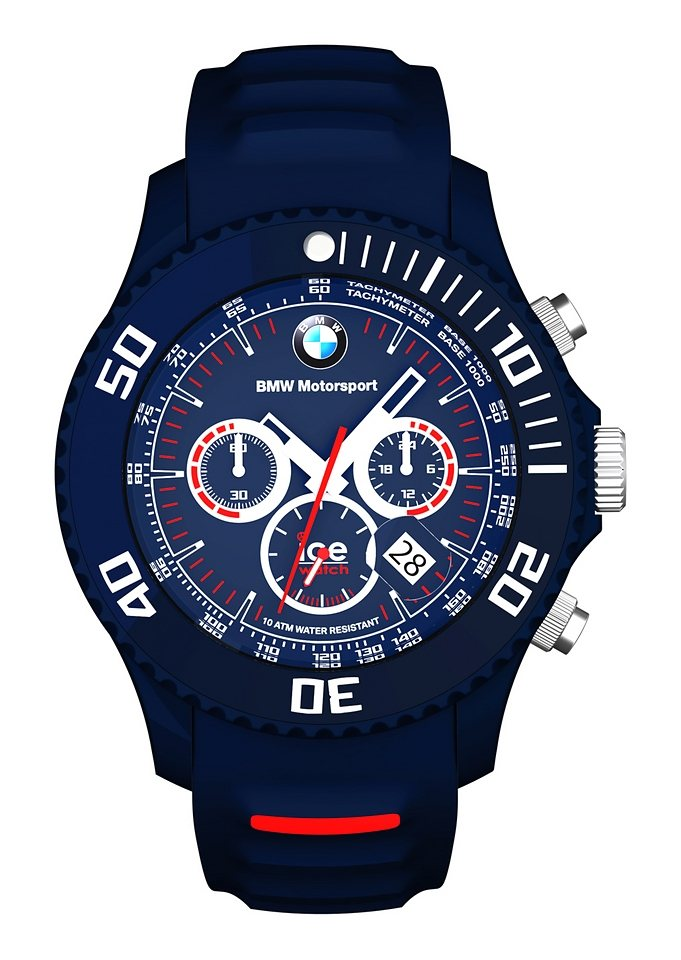 """Ice watch, Chronograph, """"ICE-BMW-MOTORSPORT Big, BM.CH.DBE.B.S.13"""" in blau"""