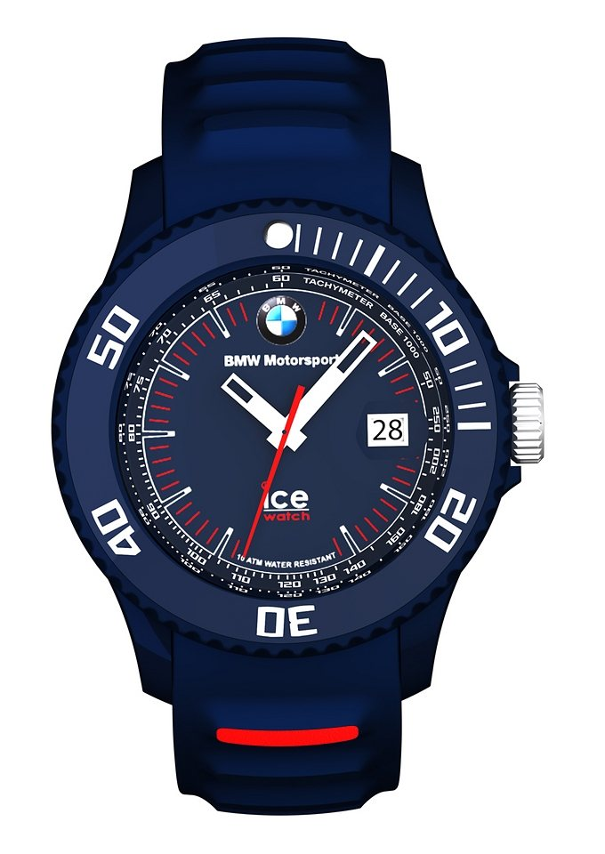 ice-watch Quarzuhr »ICE-BMW-MOTORSPORT Unisex, BM.SI.DBE.U.S.13« in dunkelblau