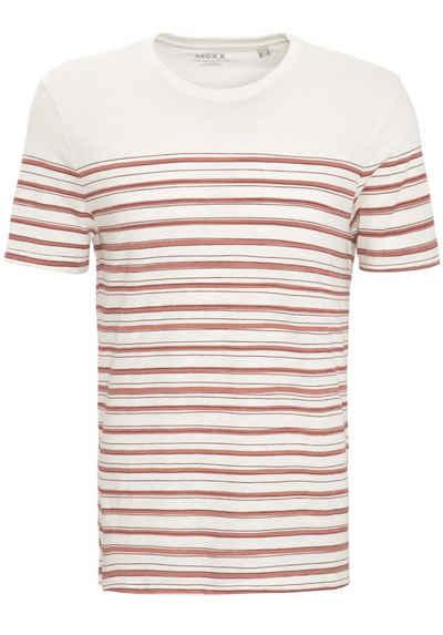 Mexx T-Shirt mit Streifendruck aus Slub Jersey