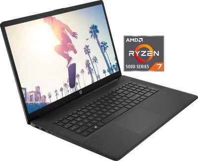 HP 17-cp0275ng Notebook (43,9 cm/17,3 Zoll, AMD Ryzen 7, Radeon RX Vega 8, 512 GB SSD)