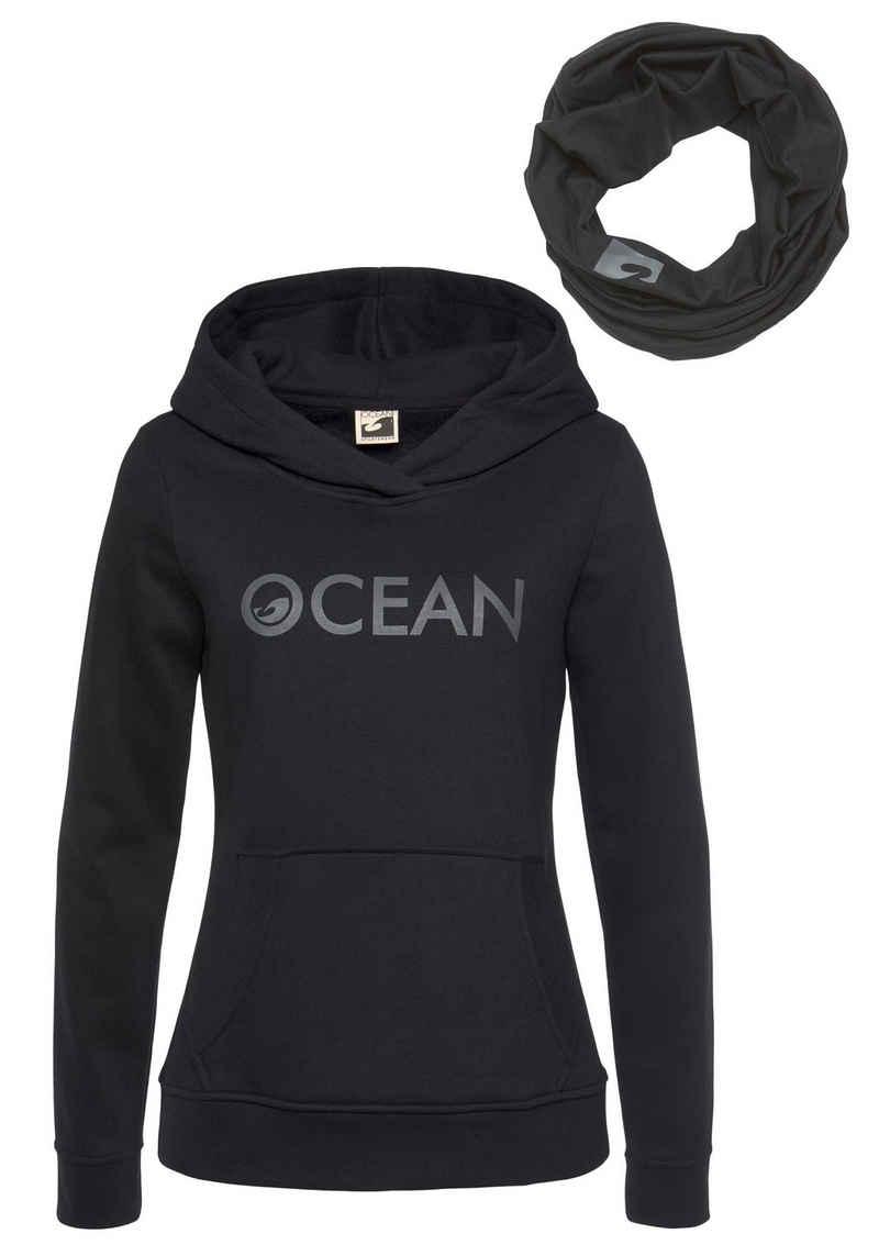 Ocean Sportswear Kapuzensweatshirt »mit Multifunktionaler Tube Schal« (Set, 2-tlg)
