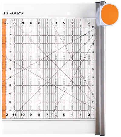 Fiskars Rollenschneidemaschine »Rollmesser & Lineal 2 in 1«, 30,5 x 30,5 cm