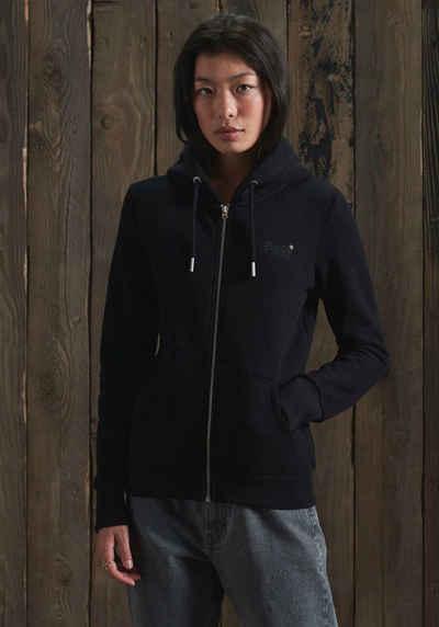 Superdry Sweatshirt »ORANGE LABEL ZIPHOOD NS« Kapuzenjacke aus der Orange Label Kollektion