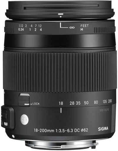 SIGMA »18-200mm 1:3,5-6,3 DC HSM C OS III Canon AF« Objektiv