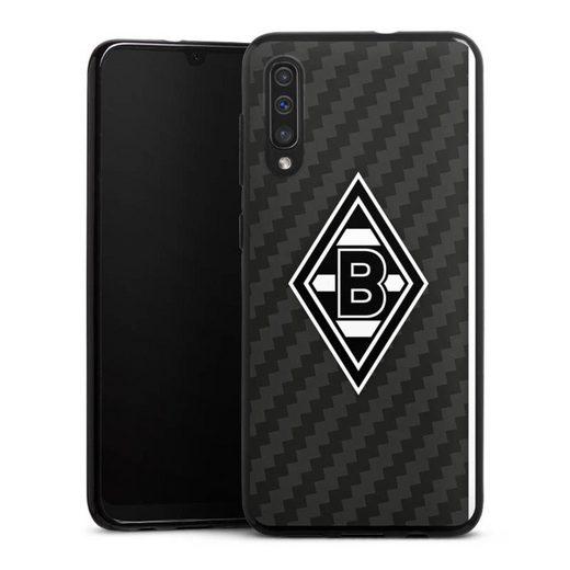 DeinDesign Handyhülle »Borussia Raute Carbon« Samsung Galaxy A50, Hülle Gladbach Borussia Mönchengladbach Carbon