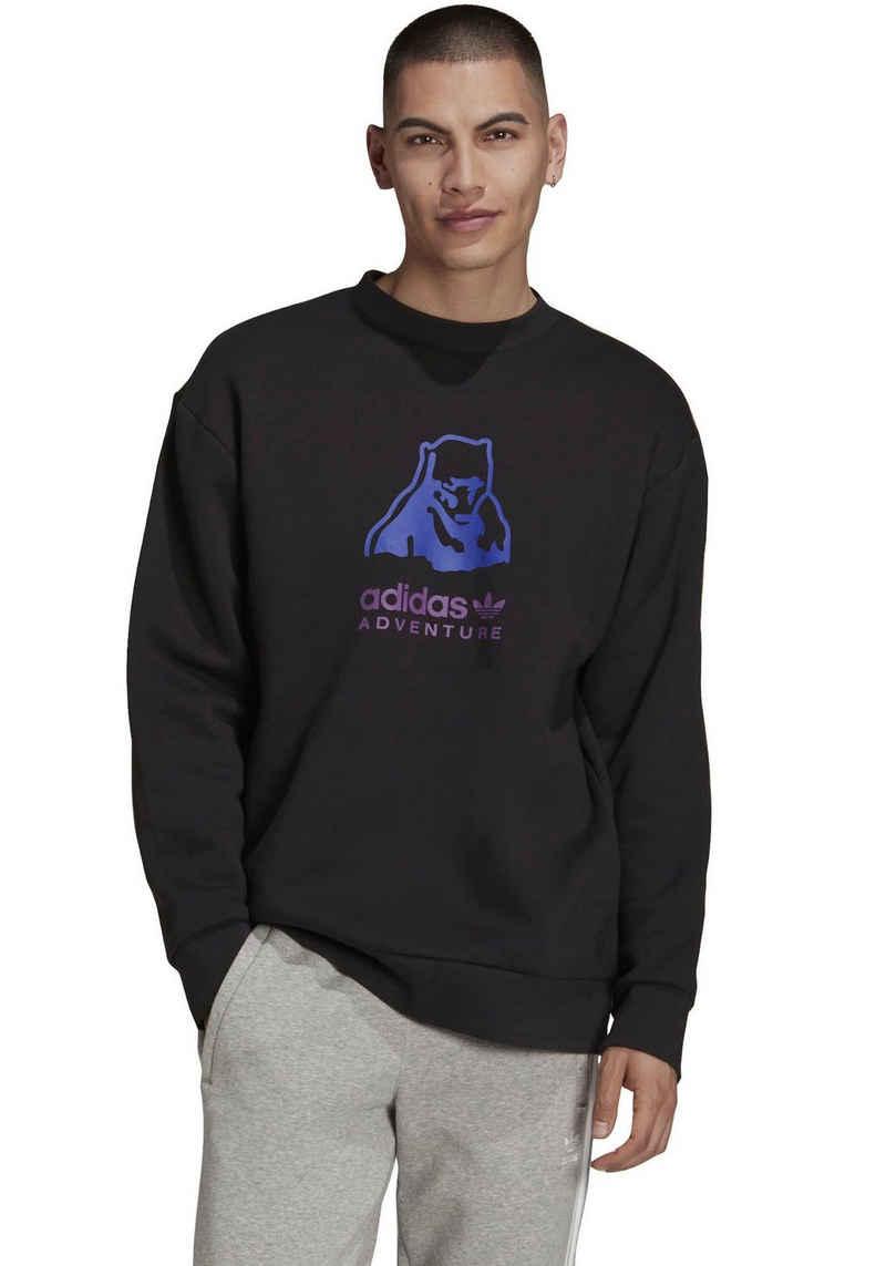 adidas Originals Sweatshirt »PBEAR CREW ADVENTURE ORIGINALS LOOSE MENS«