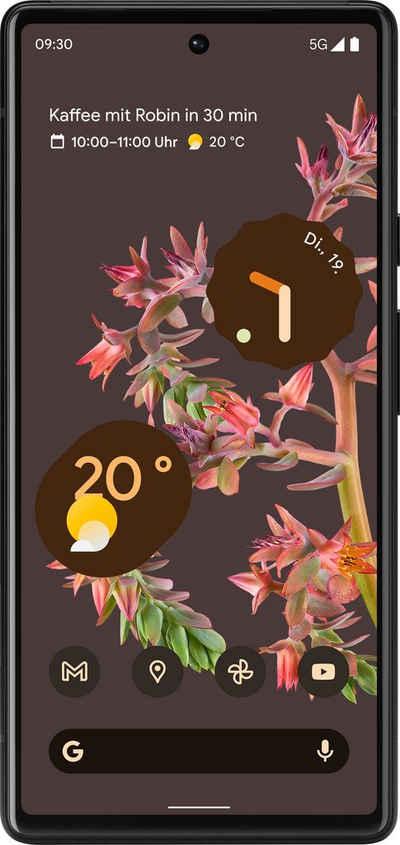Google Pixel 6 Smartphone (16,3 cm/6,4 Zoll, 128 GB Speicherplatz, 50 MP Kamera)