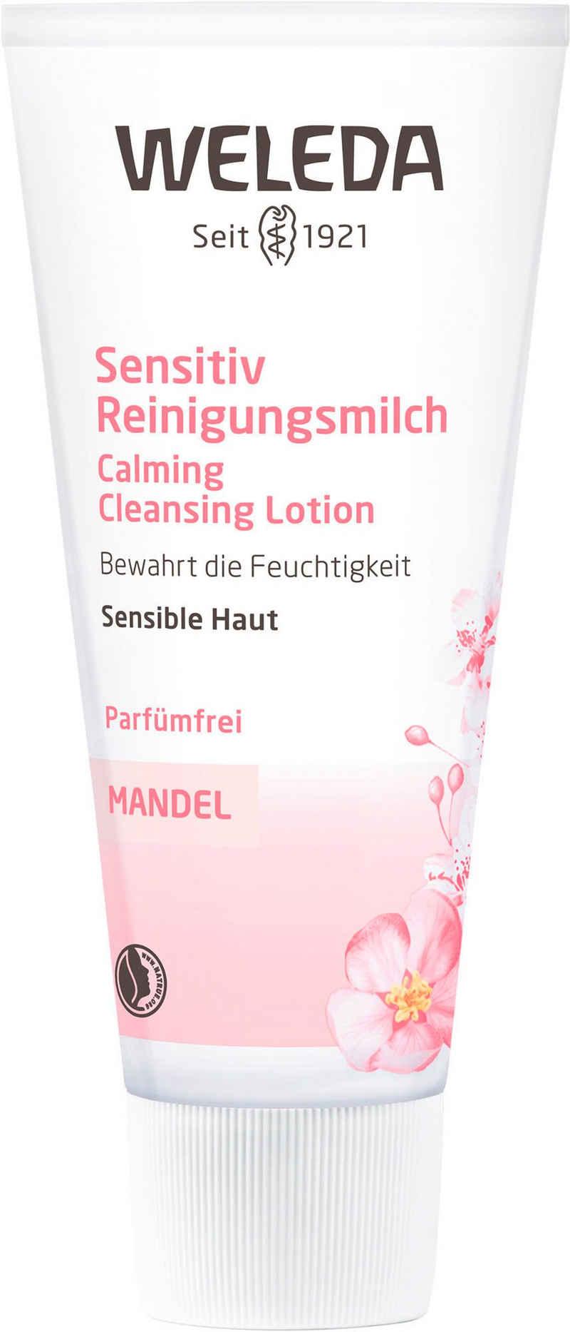 WELEDA Gesichts-Reinigungsmilch »Mandel«