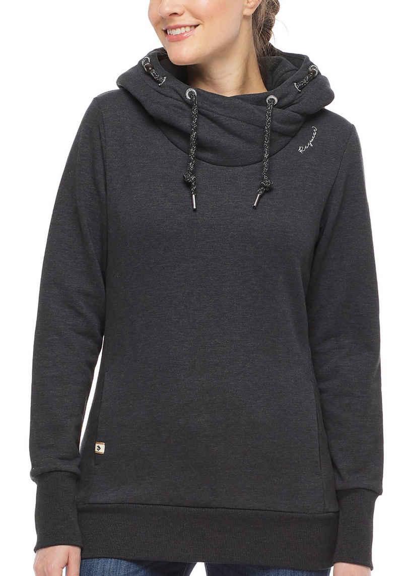 Ragwear Sweater »GRIPY A ORGANIC« mit hohem Schalkragen