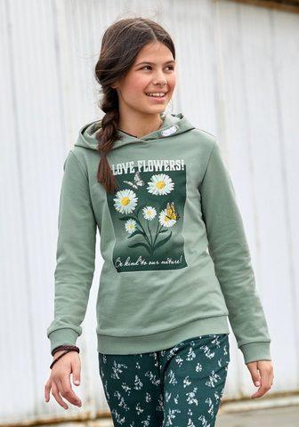 KIDSWORLD Sportinis megztinis su gobtuvu su Foto...