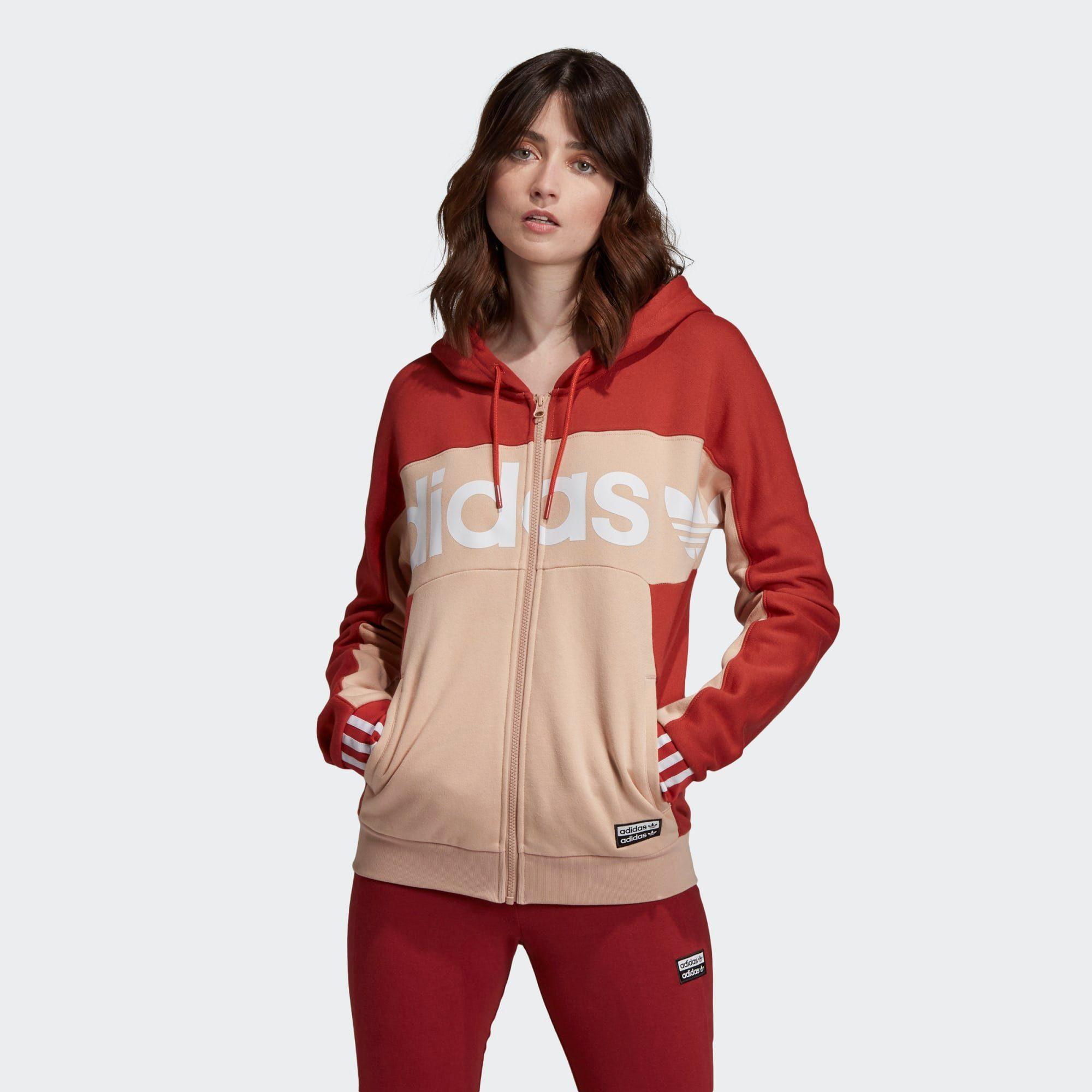 Adidas Originals Sweatjacke »hooded Track Top« Ryv