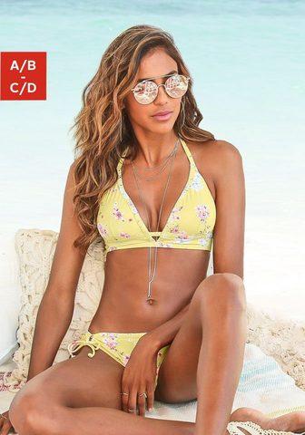 Sunseeker Triangel-Bikini-Top »Ditsy« su madinga...