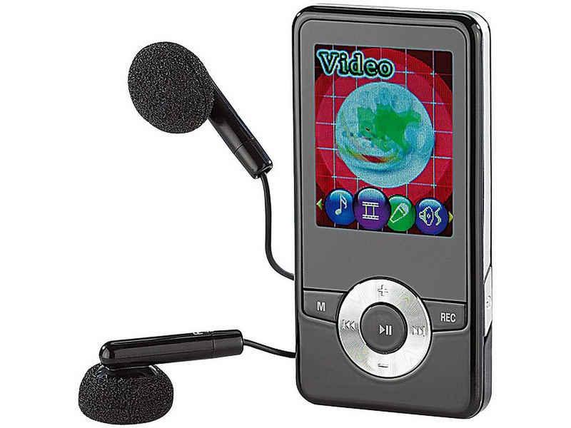 auvisio »auvisio DMP-320.bt V2 MP4-Player mit Bluetooth, FM-Radio, Video, Musik hören Audio MP3 Player« MP4-Player (Bluetooth 2.1, Diktier-Funktion)