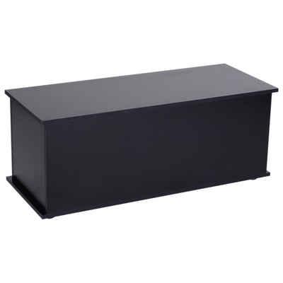 HOMCOM Truhe »Holzkiste mit klappbarem Deckel«