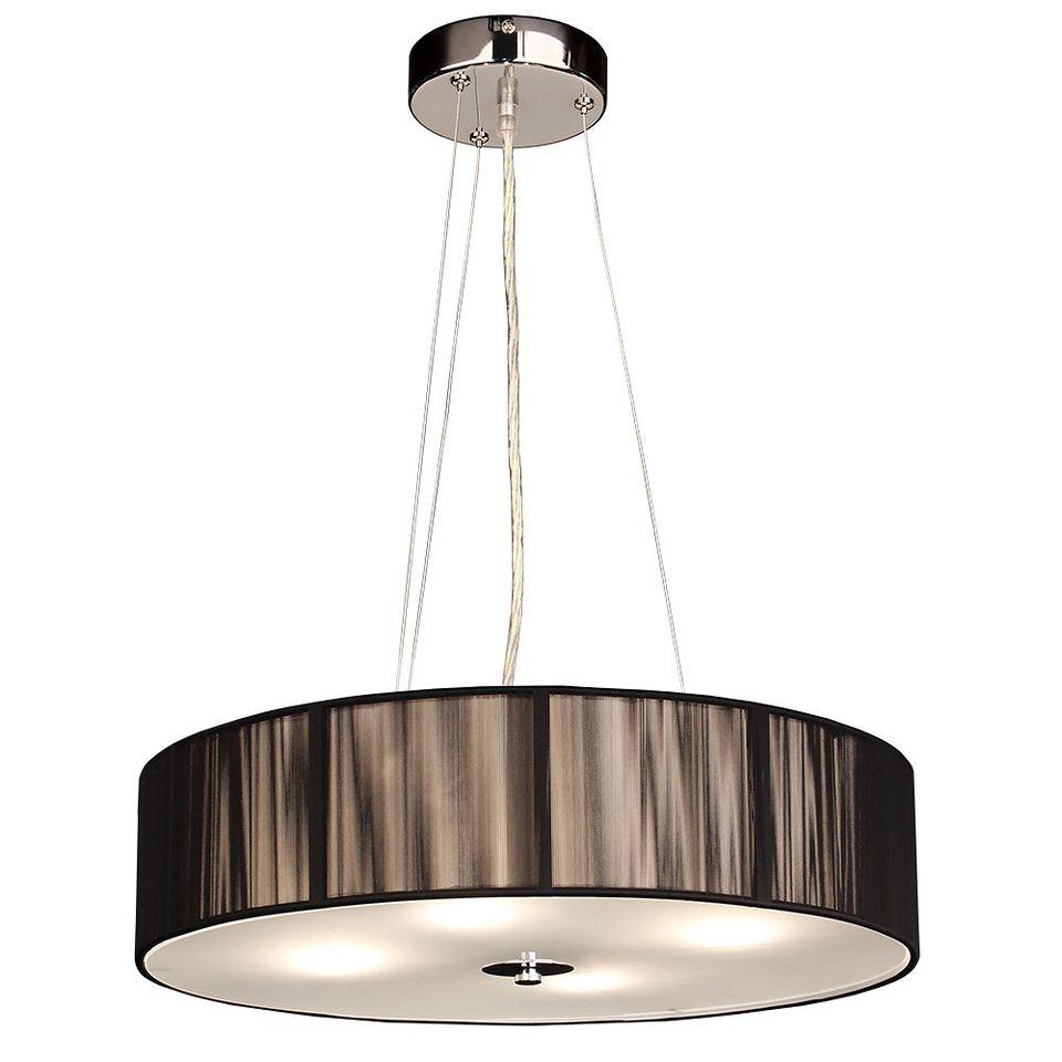s luce h ngeleuchte stoff leuchte twine 4 flammig 50. Black Bedroom Furniture Sets. Home Design Ideas