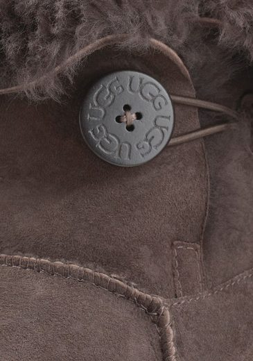 UGG Bailey Button Stiefel, mit dekorativem Knopf
