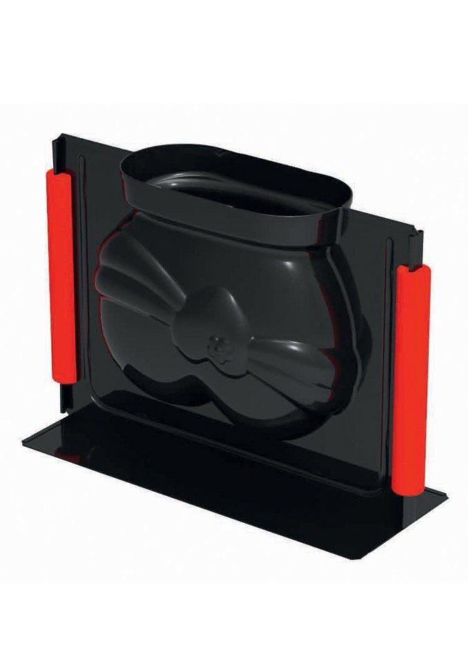 3D Vollbackform, Kaiser, »Herz« in schwarz