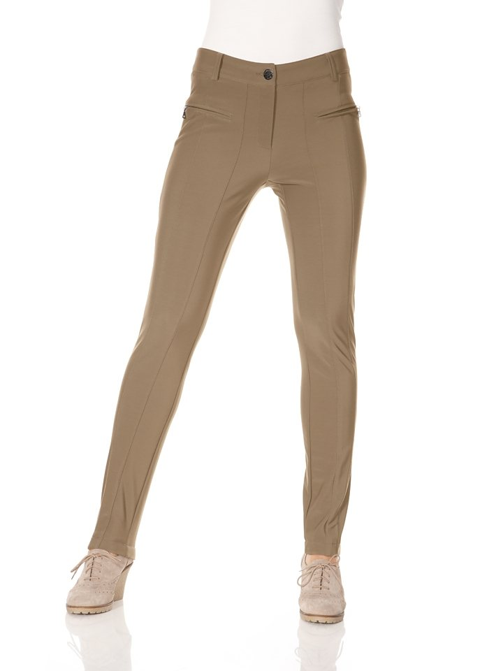 ASHLEY BROOKE by Heine Thermohose in camel