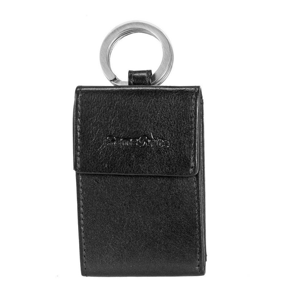 Samsonite Success SLG Schlüsseltasche Minibörse Leder 9 cm in black