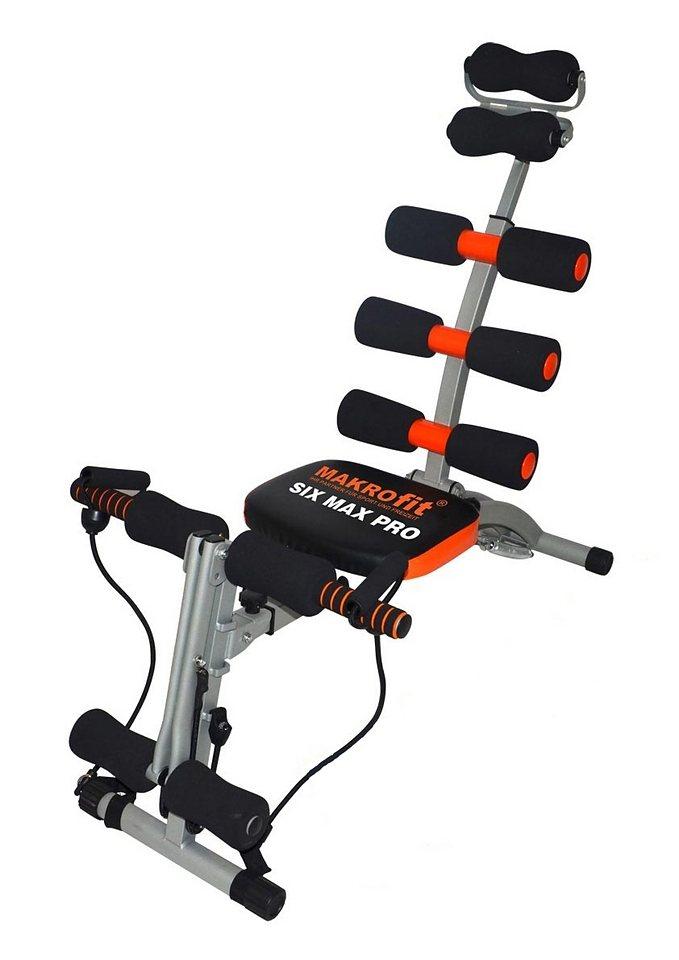 Multitrainer, MAXOfit®, »Six Max Pro« in schwarz-rot