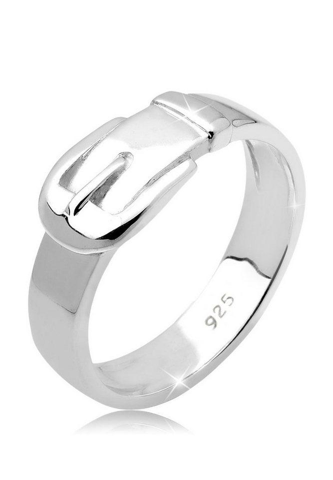 Elli Ring »Gürtel Basic 925 Silber« in Silber