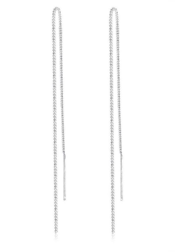 Elli Ohrringe »Kette Elegant Trend Filigran 925 Silber« in Silber