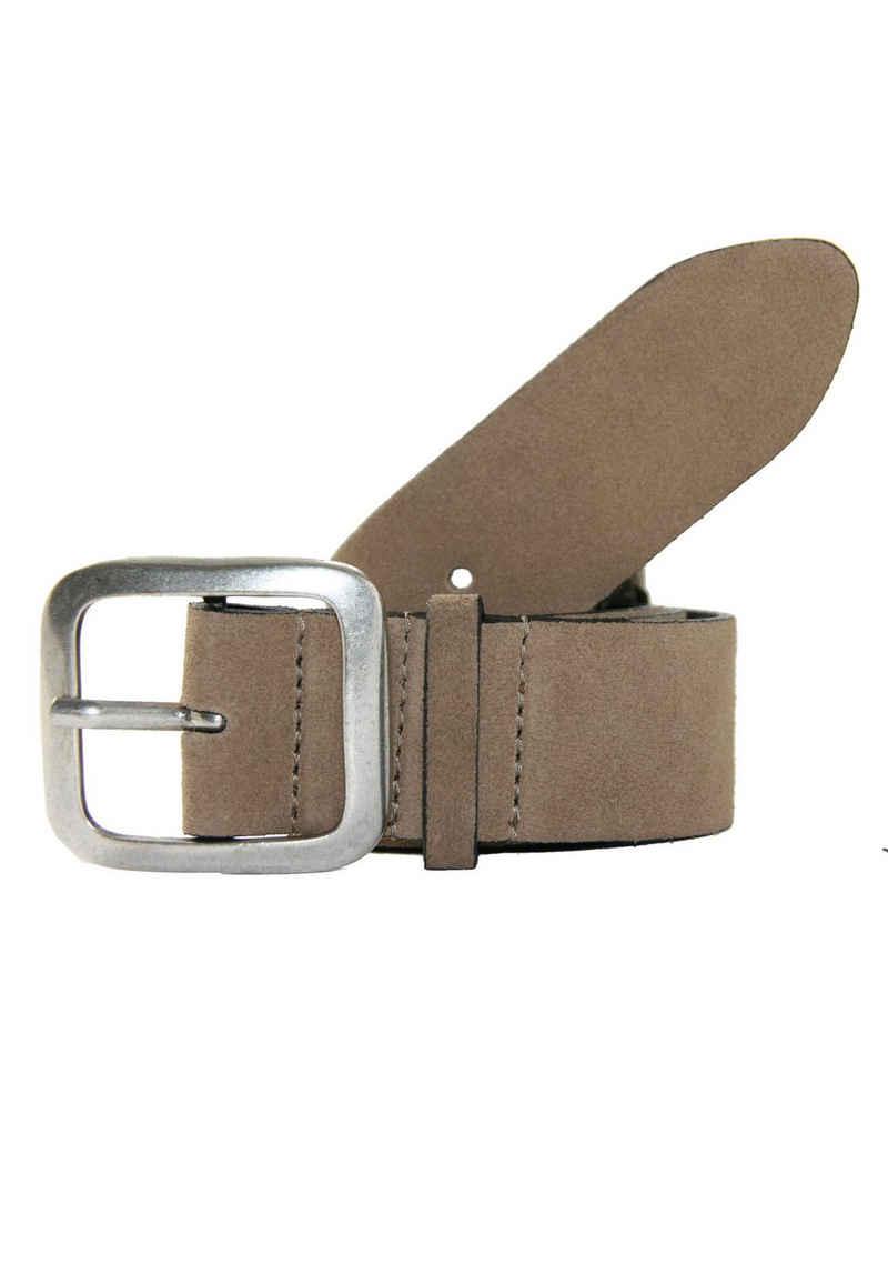 Legend Ledergürtel mit markanter Schließe