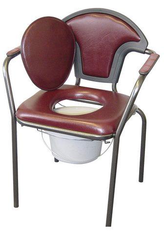 Toiletten-Stuhl su angenehm minkštas S...