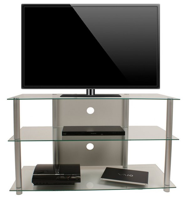 TV Möbel - VCM TV Rack »TV Möbel Onata XXL Alu Glas«  - Onlineshop OTTO