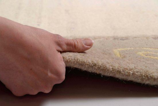 Wollteppich »Nakarta«  THEKO  rechteckig  Höhe 16 mm  von Hand geknüpft