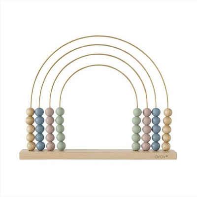 OYOY Rechenschieber »Abacus Rainbow«, Rechenschieber, Regenbogen, Lernspielzeug, Motorikspielzeug, Holzspielzeug, Motorikschleife
