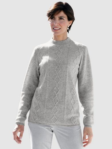 Paola Pullover mit Zopfmuster