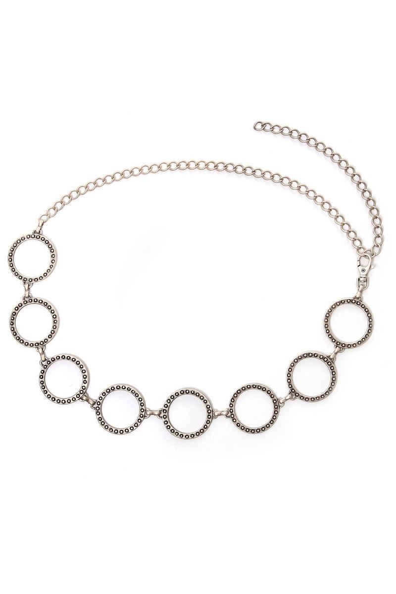 COLLEZIONE ALESSANDRO Kettengürtel »Ennie« mit Ringen