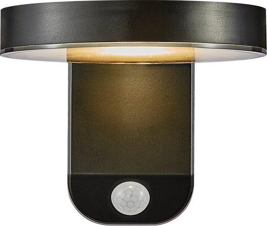 Nordlux LED Außen-Wandleuchte »RICA«, 5 Jahre Garantie auf die LED/ Solar Modul