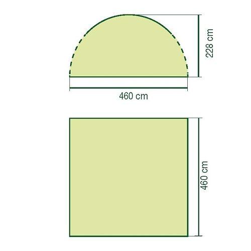 Coleman Zelt (Zubehör) »Event Shelter Deluxe Sunwall Window & Door«