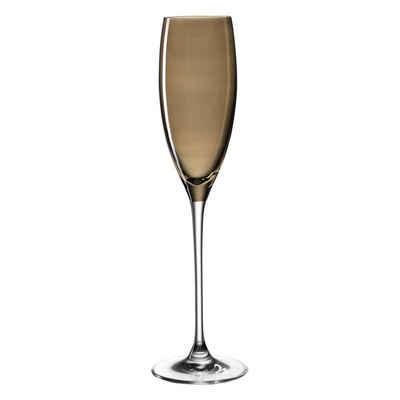 LEONARDO Sektglas »LUCENTE Braun 140 ml«, Glas