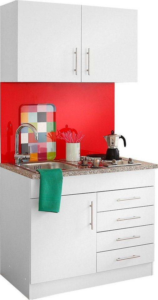 Bekannt HELD MÖBEL Küchenzeile »Toledo«, mit E-Geräten, Breite 100 cm BY19