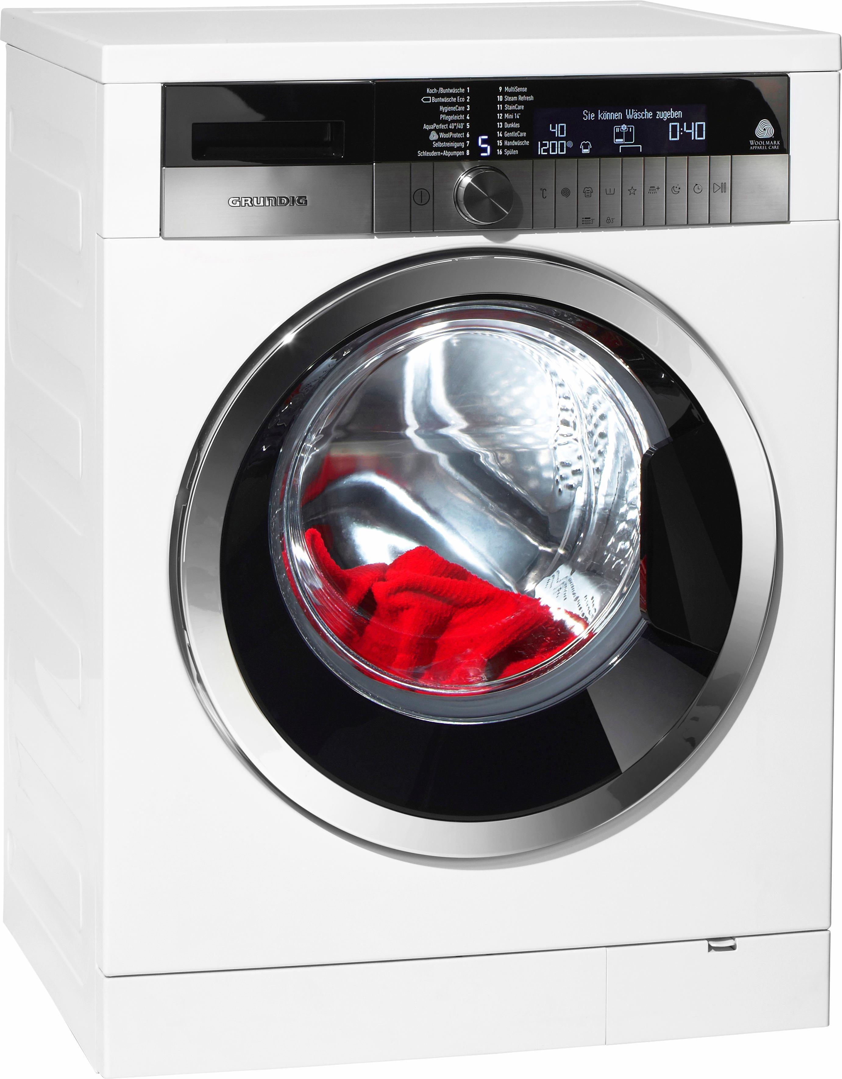 Grundig Waschmaschine GWN57443C, A+++, 7 kg, 1400 U/Min