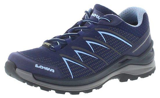 Lowa »Lowa Damen Nordic Walking Schuhe Ferrox Pro GTX Lo Ws wasserdichter Hikingschuhe Blau« Outdoorschuh
