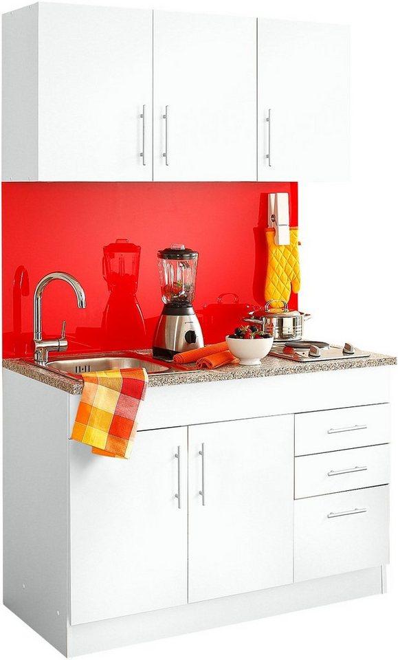 Gut gemocht HELD MÖBEL Küchenzeile »Toledo«, mit E-Geräten, Breite 120 cm EO12