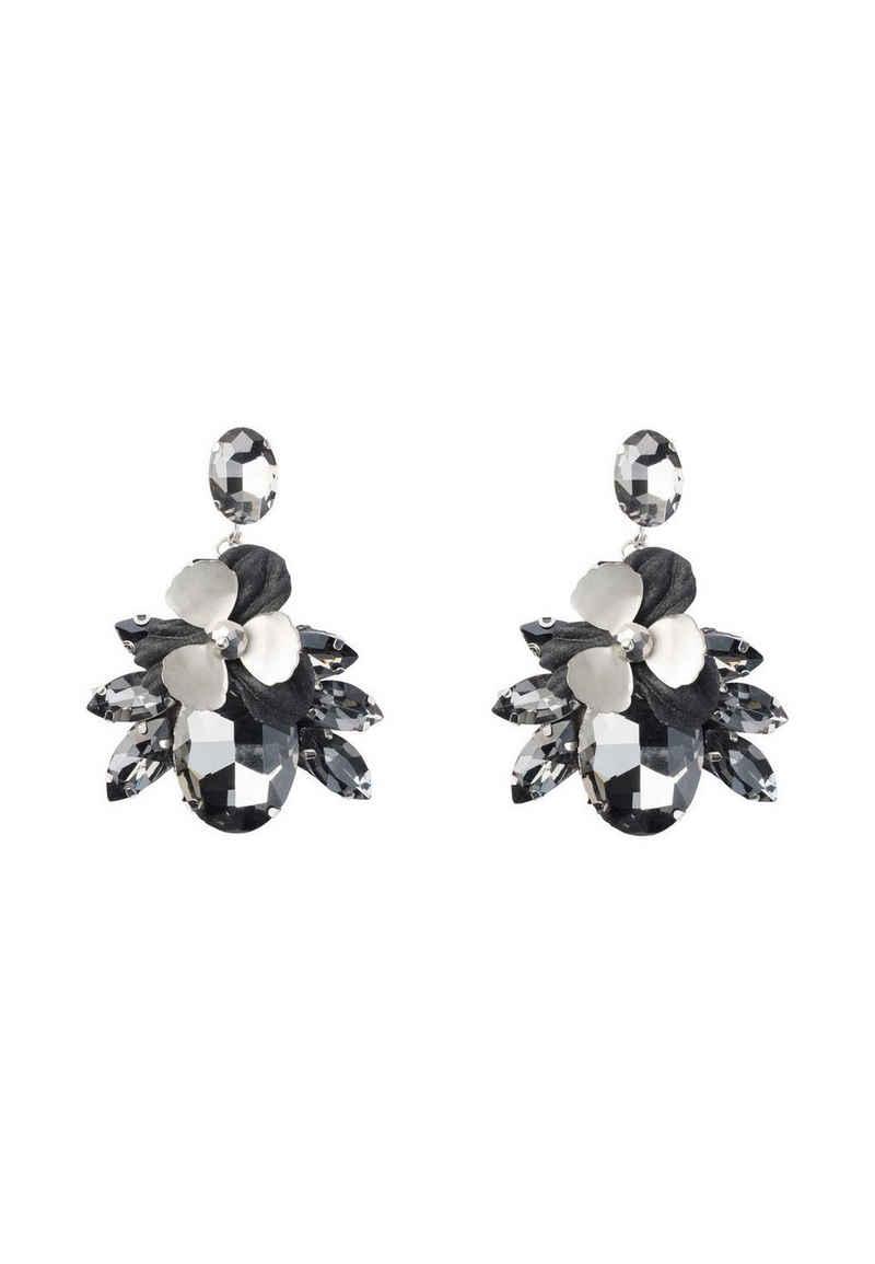 HALLHUBER Paar Ohrhänger »im Materialmix«