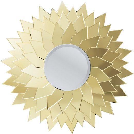 KARE Dekospiegel »Spiegel Sunflower rund 120cm«