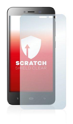 upscreen Schutzfolie »für Phicomm Clue L«, Folie Schutzfolie klar anti-scratch