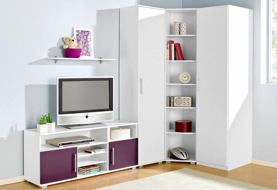 Jugendzimmer Set 5 Tlg In 4 Modernen Farbkombinationen Online