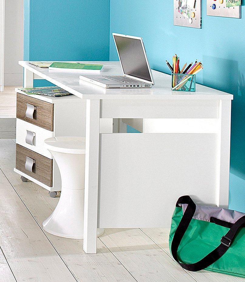 Wimex Schreibtisch in weiß unifarben