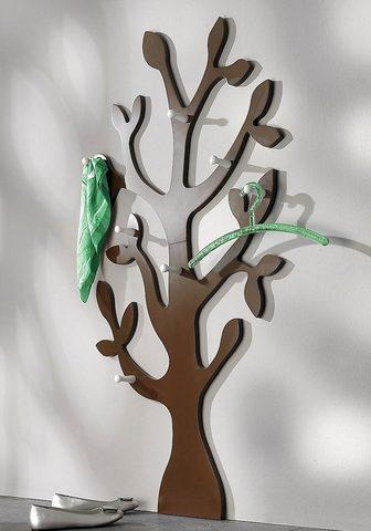 Sieninė kabykla »Baum« su 7 Kabliukas ...