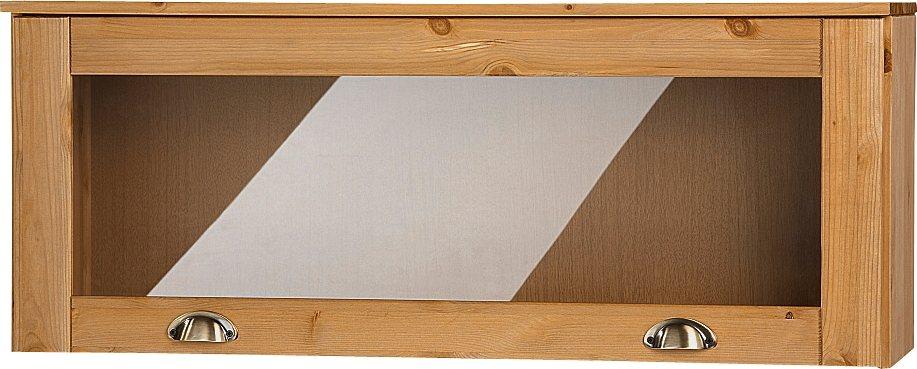 Glas-Klapphängeschrank »Föhr«, Höhe 40 cm in geölt