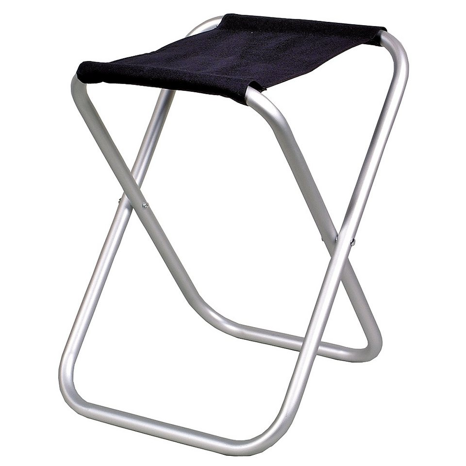 Relags Camping-Stuhl »Travelchair Klapphocker« in schwarz