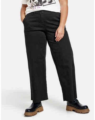 Samoon Stretch-Jeans »Weite Jeans Carlotta« (1-tlg) Marlene / Culotte